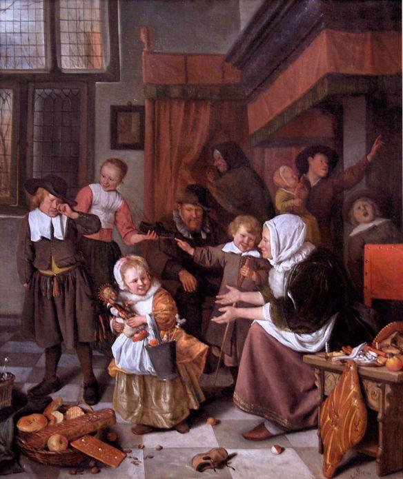 Jan_Steen. Saint Nicholas