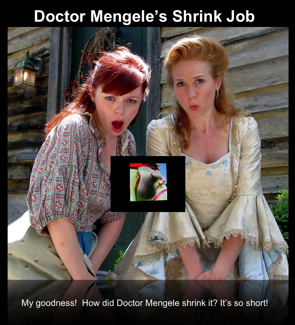 "Preview of ""doctor mengeles shrink job""_2"