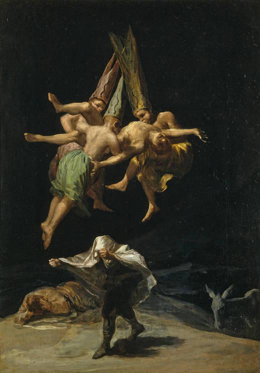 330_Witches_Flight_Goya