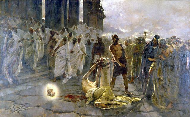 657_Beheading of Apostle Paul_Simonet_-_1887