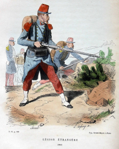 1692_French_foreign_legion_1852